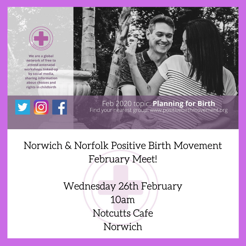 February Positive Birth Movement Meet
