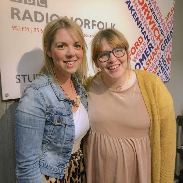 Listen to Charlotte on BBC Radio Norfolk